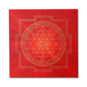 Sri Yantra Wall Art Picture on Canvas