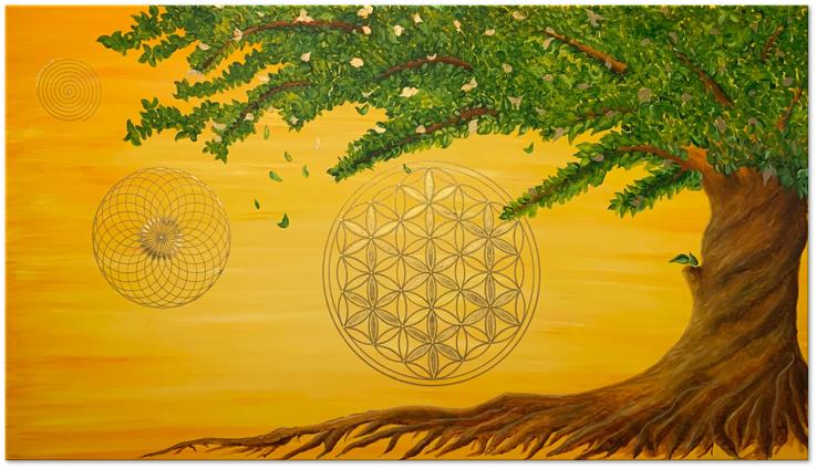 Canvas Art Natural forces