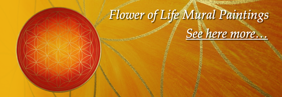 Lebensblume Wandbilder